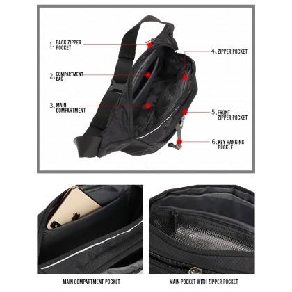 Fido Dido Cool Waist Pouch Bag 1814-3