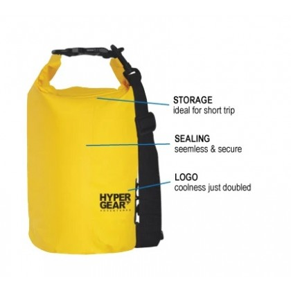 Hypergear Dry Bag 10L (Black)