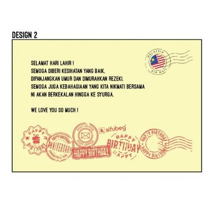 Sifubeg Wish Card Note Message Kirim Salam Doa Ucapan Mesej